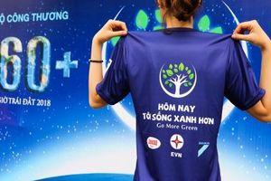 Giới trẻ Hà Nội hào hứng tham gia Lễ Phát động Giờ Trái đất 2018