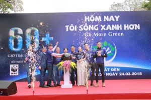 Chính thức phát động Giờ Trái đất lần thứ 10 tại Việt Nam
