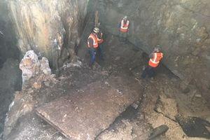 Sập đường để lộ cả một hang động ngay giữa thủ phủ bang Texas, Mỹ