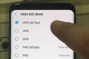Samsung Galaxy S9 không thể quay phim 4K 60 khung hình/giây quá lâu