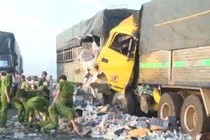 Tai nạn giao thông nghiêm trọng tại Ninh Thuận, 1 người chết