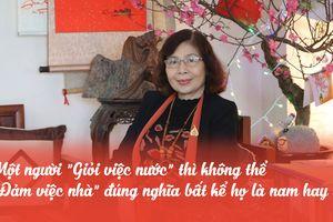 Giáo sư Lê Thị Quý: 'Khi nào ngày 8/3 chỉ còn là kỷ niệm thì phụ nữ sẽ hạnh phúc'
