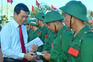 Bà Rịa – Vũng Tàu: 1.568 thanh niên hăng hái lên đường nhập ngũ