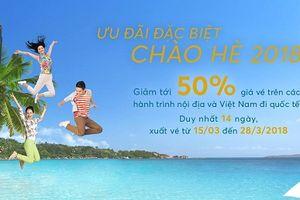 Vietnam Airlines tung vé rẻ, đầm bầu BB, H&M giảm giá