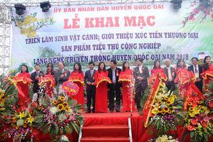 Hà Nội: Khai mạc Triển lãm Sinh Vật Cảnh huyện Quốc Oai năm 2018