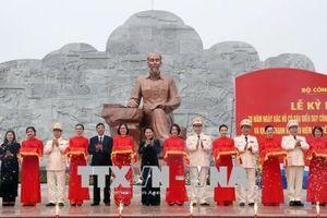 Khánh thành Khu lưu niệm Sáu điều Bác Hồ dạy Công an nhân dân