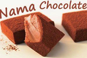 Bất ngờ với cách làm nama chocolate bằng sữa tươi thơm ngon cực đơn giản