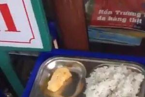 Phụ huynh phản ứng dữ dội bữa ăn bán trú 13.000 đồng