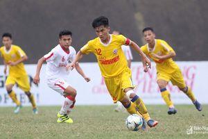 HLV Hoàng Anh Tuấn 'kết' đội trưởng U19 SLNA