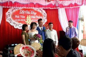 Lạ kỳ đám cưới 6 KHÔNG ở Ninh Bình