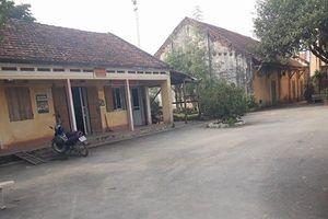 Công an huyện Thanh Oai điều tra vụ côn đồ hành hung người tại UBND xã