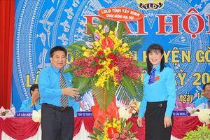 Tây Ninh: Đại hội Công đoàn huyện Gò Dầu lần thứ IX, nhiệm kỳ 2018-2023