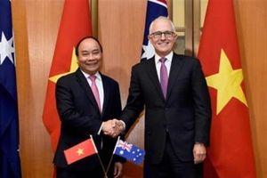 Việt–Úc chính thức là Quan hệ Đối tác chiến lược