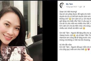 Việt Hương đòi tặng đĩa, Mỹ Tâm đáp trả không ngờ