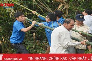 Cán bộ, đoàn viên ngành LĐTB&XH Hà Tĩnh chung tay xây dựng NTM