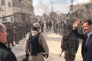 Tổng thống Syria bất ngờ đến chảo lửa Đông Ghouta