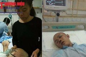 Đáng thương bé trai bị dập não không có tiền để phẫu thuật