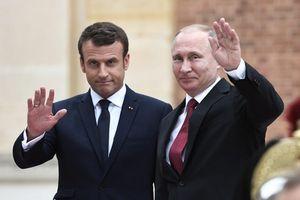 Tổng thống Pháp điện đàm mừng ông Putin đắc cử, bàn hàng loạt vấn đề nóng