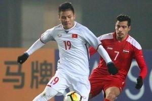 Đội hình tối ưu của ĐT Việt Nam đấu Jordan: Quang Hải dự bị?
