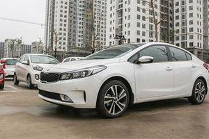 Sedan Kia Cerato mới giá chưa đến 500 triệu tại Việt Nam