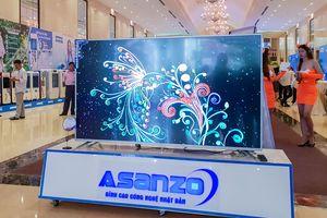 Asanzo ra mắt bộ đôi TV 4K 65 và 75 inch cùng dòng máy lạnh dùng gas R410 tại Việt Nam