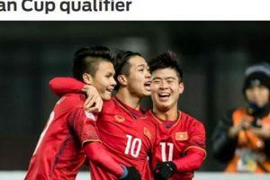 Báo châu Á ấn tượng đặc biệt với danh sách ĐT Việt Nam
