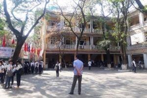Di chuyển học sinh Trường THPT Trần Nhân Tông đến địa điểm an toàn