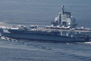 Trung Quốc điều tàu sân bay 'dằn mặt' Đài Loan