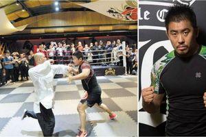 Sư huynh của Flores muốn tỉ thí với võ sĩ MMA Từ Hiểu Đông