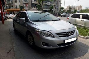 Dòng xe ăn khách Corolla của Toyota Việt Nam lại dính lỗi nghiêm trọng về an toàn
