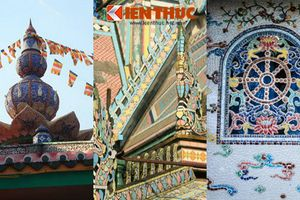 Điểm danh các ngôi chùa 've chai' lạ lùng nhất Việt Nam