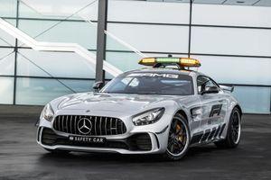 Mercedes-AMG GT R được chọn là 'xe an toàn' mùa F1 2018