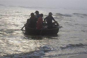 Ngư dân ở Quảng Nam mất tích trong chuyến đi biển đầu tiên