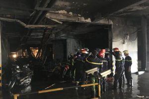 Vụ cháy chung cư Carina Plaza: Vì sao chưa khởi tố vụ án hình sự?