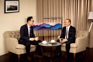 HLV Park Hang Seo làm đại sứ thương hiệu của Samsung tại Việt Nam