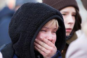Hình ảnh tang thương về vụ cháy trung tâm thương mại ở Nga