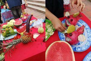 Hết Pikalong, những hình thú khó hiểu biến hóa từ hoa quả được 'trọng dụng' trong hội trại 26/3