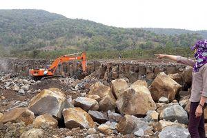 Vụ mỏ đá ảnh hưởng vườn cà phê: Công ty chưa nghiêm túc bảo vệ môi trường