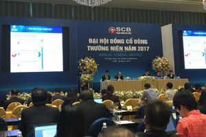 ĐHĐCĐ SCB: Sẽ phát hành 60 triệu cổ phiếu thưởng cho cổ đông
