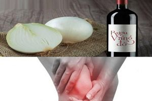 Hành tây ngâm rượu vang đỏ: Bài thuốc trị đau nhức xương khớp hiệu quả bất ngờ