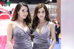 Ngắm những 'bóng hồng' gợi cảm tại Triển lãm Ô tô Bangkok 2018
