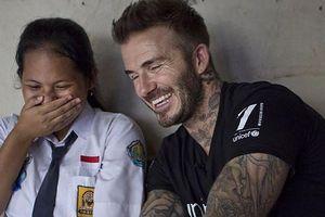 Beckham hộc tốc sang ĐNA giải quyết bạo lực học đường