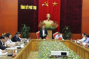 Công bố kết quả kiểm tra, giám sát phòng chống tham nhũng tại Phú Thọ