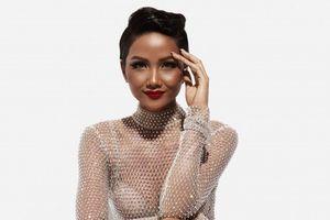 Ngỡ ngàng ngắm Hoa hậu H'Hen Niê mặc váy xuyên thấu, khoe đường cong nóng bỏng