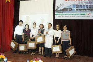 Bệnh viện Nhiệt Đới TƯ cảm ơn sự đồng hành của những tấm lòng thiện nguyện