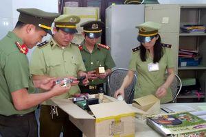Lô hàng mỹ phẩm Hàn Quốc tiền tỷ nghi nhập lậu