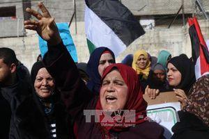 Hàng nghìn người Palestine biểu tình tại biên giới Gaza
