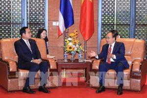 Hội nghị GMS6 - CLV10: Thủ tướng Nguyễn Xuân Phúc gặp Thủ tướng Thái Lan