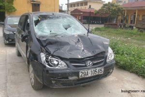 Chủ tịch xã lái xe đâm học sinh tử vong rồi bỏ trốn