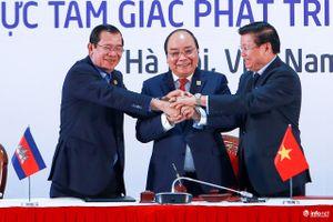 Hình ảnh ấn tượng tại Lễ ký kết Tam giác phát triển Campuchia-Lào-Việt Nam